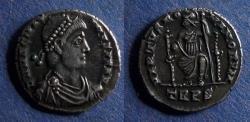 Ancient Coins - Roman Empire, Magnus Maximus 383-388, Siliqua