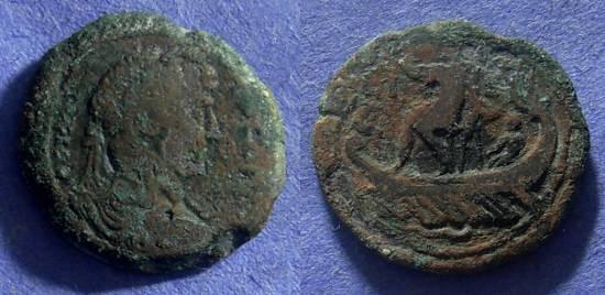 Ancient Coins - Roman Egypt – Hadrian 117-138 – Diobol