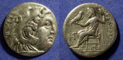 Ancient Coins - Macedonian Kingdom, Alexander III 336-323 BC, Drachm