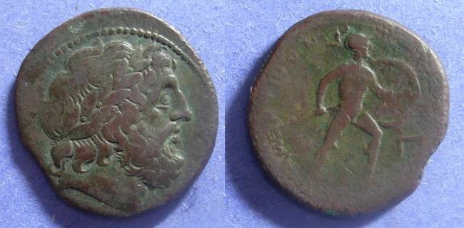 Ancient Coins - Mamertinoi, Messena Sicily 220-200 BC, Pentonkion