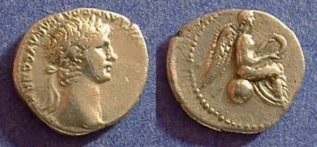Ancient Coins - Nero 54-68AD - Hemidrachm of Caesarea Cappadocia