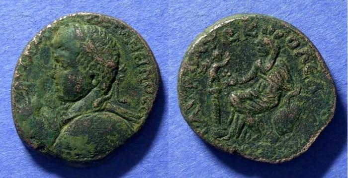 Ancient Coins - Edessa Mesopotamia, Elagabalus 218-222, AE26x28
