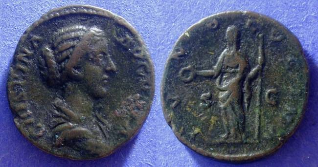 Ancient Coins - Crispina (Wife of Commodus ) Aes