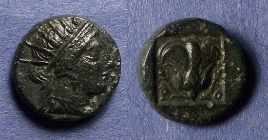 Ancient Coins - Rhodes,  188-184 BC, AE13