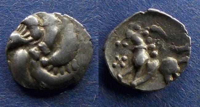 Ancient Coins - Celtic, Vindelici Circa 50 BC, Quinarius
