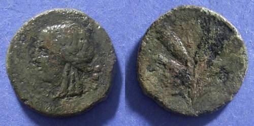 Ancient Coins - Panormos (?), Sicily Circa 212 BC, Trias