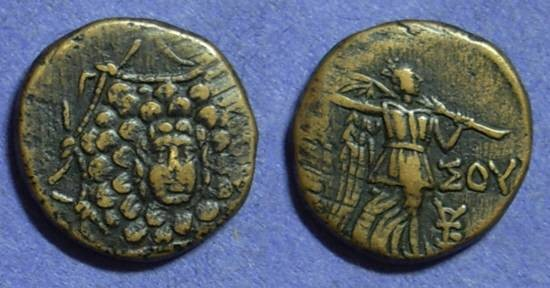 Ancient Coins - Amisos Pontos - AE20 Circa 100 Time of Mithradates