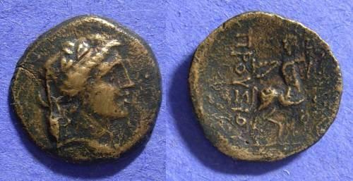 Ancient Coins - Bithynian kingdom - Prusias II 185-149 BC AE 20