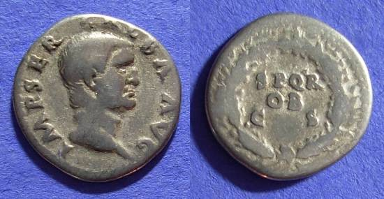 Ancient Coins - Galba 68-69 Denarius (7 month ruler)