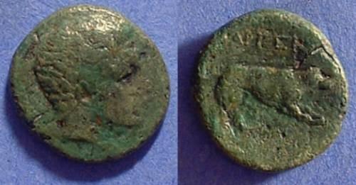 Ancient Coins - Argos -AE17 - Circa 360BC