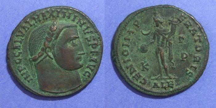 Ancient Coins - Roman Empire, Maximinus II Daia 309-13, Follis