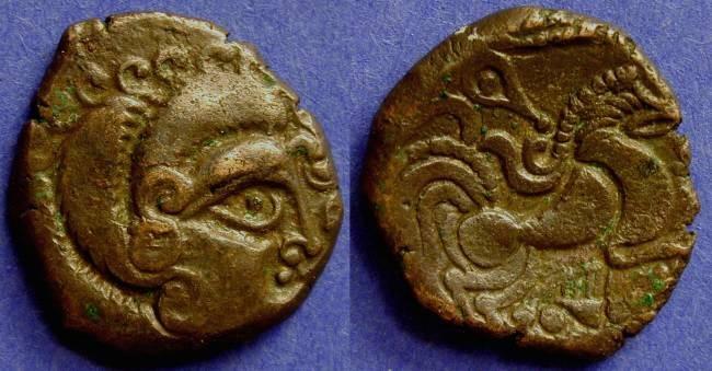 Ancient Coins - Coriosolites - Billon Stater 1st Century BC