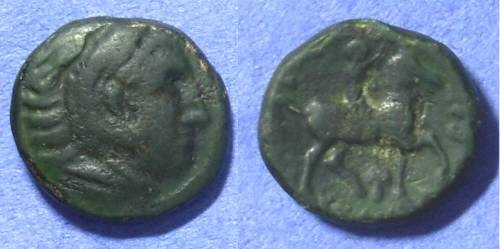 Ancient Coins - Macedonian Kingdom – Kassander 319-297BC AE18