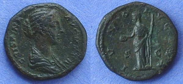 Ancient Coins - Crispina - Wife of Commodus D. 183  As - Better than the image