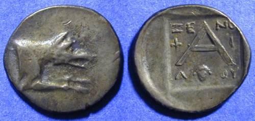Ancient Coins - Argos - Triobol 90-50 BC