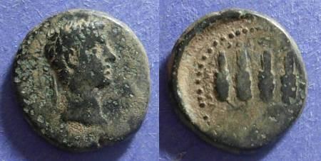 Ancient Coins - Philadelphia Lydia, Claudius 41-54, AE16