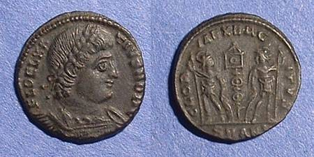 Ancient Coins - Delmatius (Caesar) 335-7 - AE-3/4