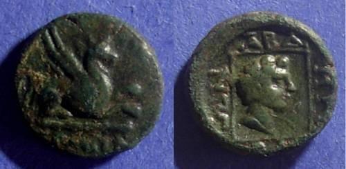 Ancient Coins - Abdera, Thrace 311-280 BC, AE15