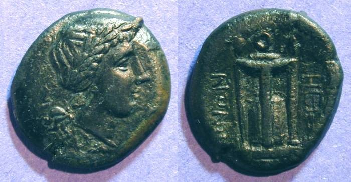 Ancient Coins - Rhegion Bruttium - AE22mm - Circa 250BC