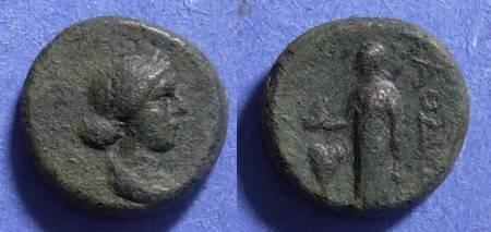 Ancient Coins - Laodiceia, Phrygia Circa 150 BC, AE14