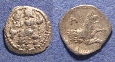 Ancient Coins - Cilicia, Uncertain mint Circa 350 BC, Obol