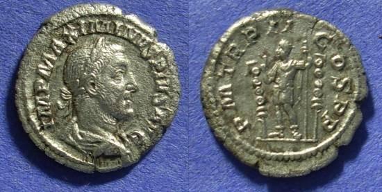 Ancient Coins - Maximinus  235-238AD  Denarius