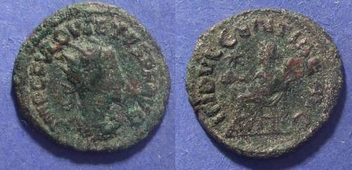 Ancient Coins - Roman Empire, Quietus 260-261 AD, Antoninianus