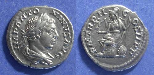 Ancient Coins - Roman Empire, Elagabalus 218-222, Denarius