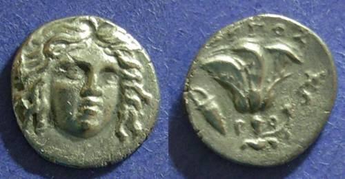 Ancient Coins - Rhodes,  205-190 BC, Drachm