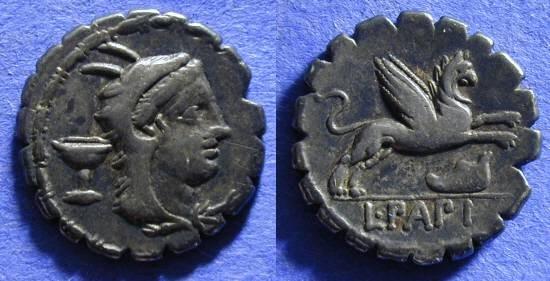 Ancient Coins - Roman Republic - Denarius 79 BC - Papia 1