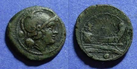 Ancient Coins - Roman Republic, Anonymous Circa 200 BC, Uncia