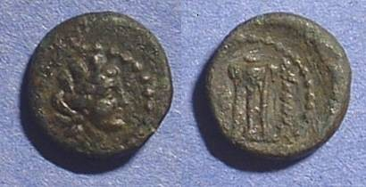 Ancient Coins - Phoenicia 2nd Century BC - AE11 (unlisted?)