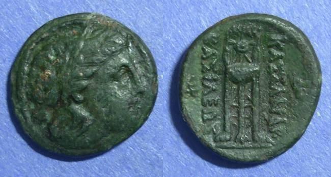 Ancient Coins - Macedonian Kingdom, Kassander 319-297 BC, AE19