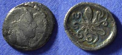 Ancient Coins - Syracuse Sicily - Litra 470-450 BC