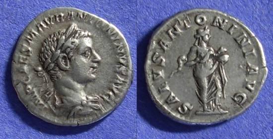 Ancient Coins - Roman Empire – Elagabalus 218-222 – Denarius
