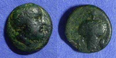 Ancient Coins - Cyclades – Tenos AE14– Circa 300-200 BC