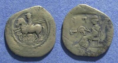 Ancient Coins - Thessaly, Perrhaiboi 450-400 BC, Trihemiobol