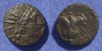 Ancient Coins - Rhodes – AE11 167-88 BC