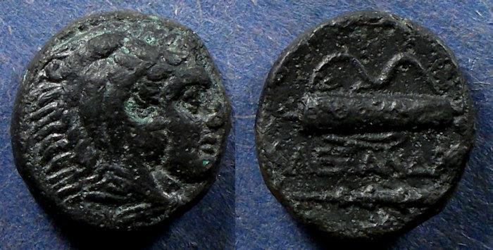 Ancient Coins - Kingdom of Macedonia, Alexander III 336-323 BC, AE17