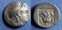 Ancient Coins - Islands off of Caria, Rhodes 188-170 BC, Drachm