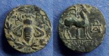 Ancient Coins - Ionia, Ephesos Circa 100 BC, AE19