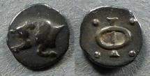 Ancient Coins - Phliasia, Phlious Circa 350 BC, Obol