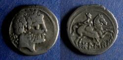 Ancient Coins - Spain, Osca 150-100 BC, Drachm