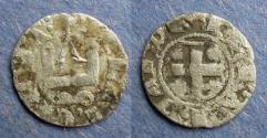 World Coins - Frankish Greece, Philip of Tartanto 1306-13, Denier