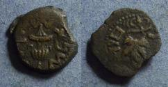Ancient Coins - Jewish war,  66-70 AD, Prutah