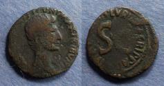 Ancient Coins - Roman Empire, Augustus 27BC-14AD, Aes