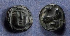 Ancient Coins - Troas Gergis, Imitative issue Circa 350 BC, AE9