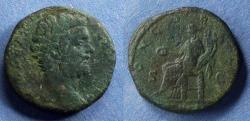 Ancient Coins - Roman Empire, Clodius Albinus (as Caesar) 193-195, Sestertius