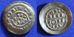 World Coins - Italy – Milan Henri II 1014-24  Denaro