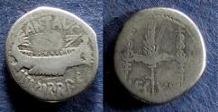 Ancient Coins - Roman Imperatorial, Marc Antony 32-31 BC, Denarius
